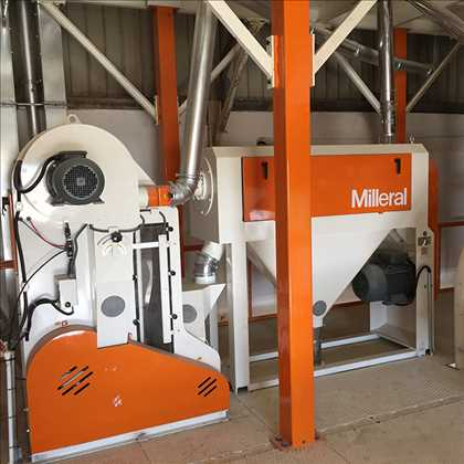 We have started-up five flour and semolina mills in in Algeria